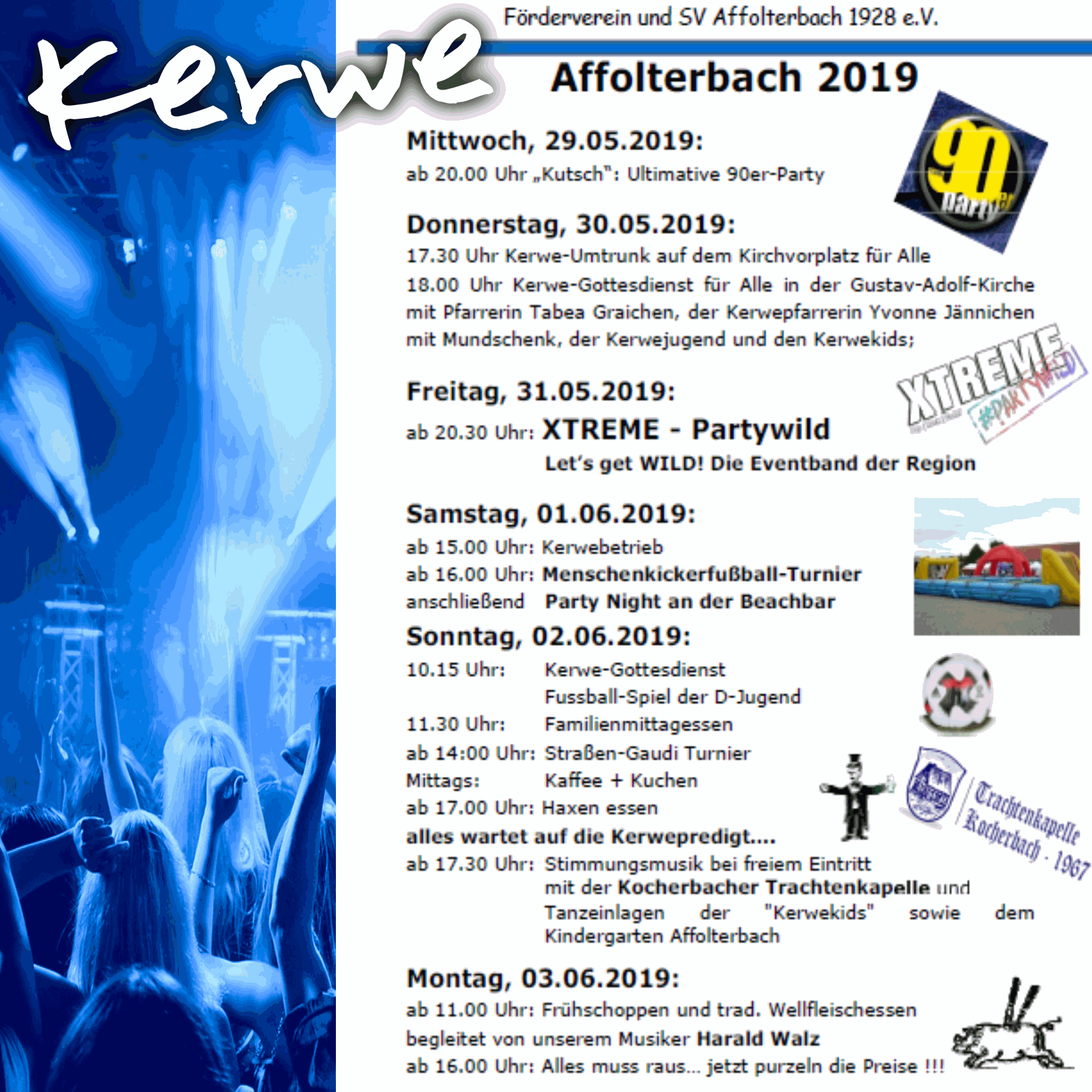Kerwe in Affolterbach