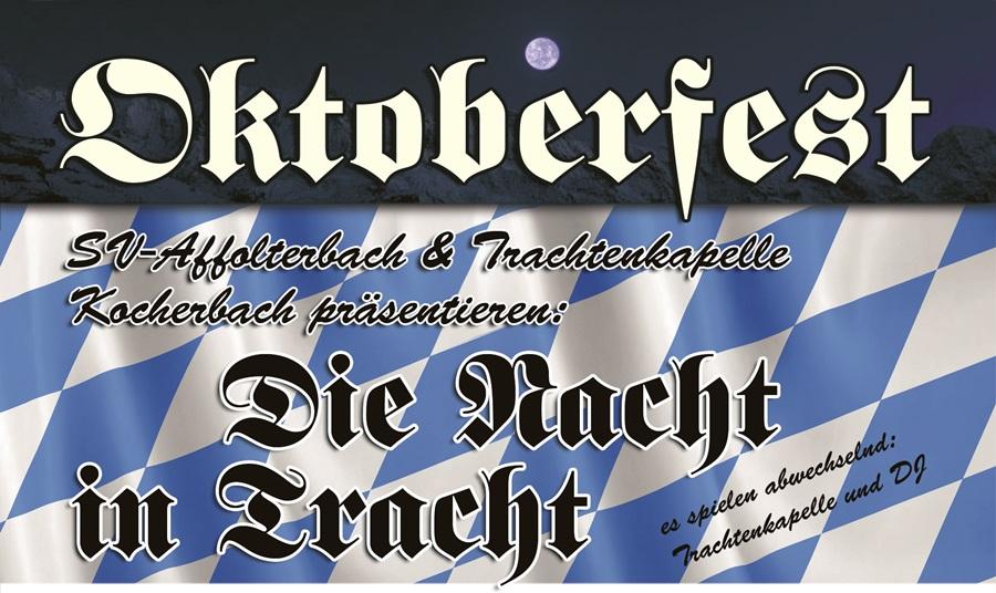 Oktoberfest Affolterbach Nacht in Tracht